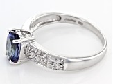 Pre-Owned Blue Tanzanite Sterling Silver Ring 1.09ctw