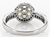 Pre-Owned Ethiopian Opal Sterling Silver Ring 1.28ctw