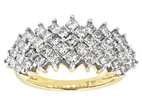 Pre-Owned Diamond 10k Yellow Gold Ring 2.00ctw