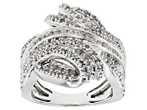 Pre-Owned Diamond Rhodium Over Brass Ring 1.95ctw