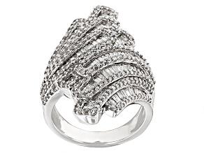 Pre-Owned Diamond 10k White Gold Ring 2.00ctw