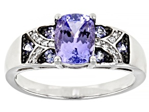 Pre-Owned Blue Tanzanite Sterling Silver Ring 1.44ctw