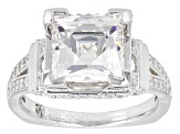 Pre-Owned White Cubic Zirconia Platineve Ring 7.25ctw