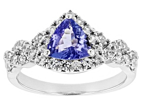 Pre-Owned Blue Tanzanite Sterling Silver Ring 1.59ctw