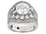 Pre-Owned Vanna K ™ For Bella Luce ® 6.35ctw Platineve ™ Ring