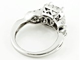 Pre-Owned Cubic Zirconia Silver Ring 2.69ctw (1.63ctw DEW)