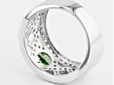 Pre-Owned Green Chrome Diopside Sterling Silver Ring. 1.32ctw