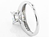 Pre-Owned Moissanite Platineve Ring 2.90ctw D.E.W