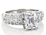 Pre-Owned Cubic Zirconia Platineve Ring 4.85ctw