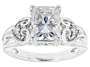 Pre-Owned Moissanite Platineve Ring 2.76ctw D.E.W