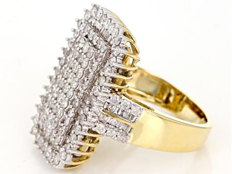 Jtv Diamond Rings >> Pre Owned 14k Gold Diamond Ring 2 00ctw