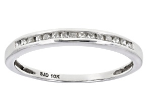Pre-Owned Diamond 10k White Gold Band .25ctw
