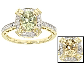 Pre-Owned Green Zultanite® 14k Yellow Gold Ring 1.20ctw