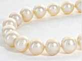 Womens Classic Necklace Cultured Freshwater Pearl Sterling Silver 20 inch