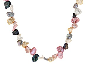 Cultured Freshwater Pearl Endless Strand Necklace 7-9mm