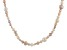 5-9mm Multi-Color Cultured Freshwater Pearl, 36 Inch Endless Strand Necklace