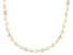 8.5-9.5mm White Cultured Baroque Freshwater Pearl Endless Strand 64 inch Necklace