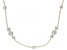 White Cultured Freshwater Pearl 60 Inch Endless Strand Necklace 3-11mm