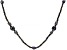 Black Cultured Freshwater Pearl 60 Inch Endless Strand Necklace 3-11mm