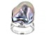 Silver Cultured Freshwater Pearl Rhodium Over Sterling Silver Ring 20mm
