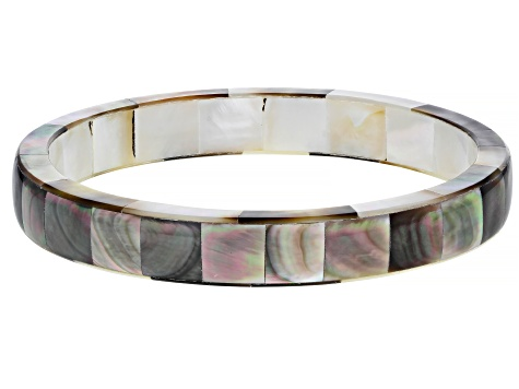 Tahitian Mother-of-Pearl 8.5 Inch Bangle
