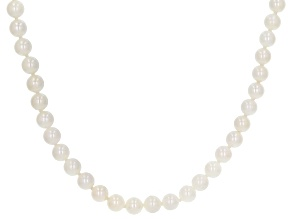White Cultured Japanese Akoya Pearl 5-5.5mm 60 Inch Endless Necklace Strand
