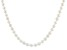White Cultured Freshwater Pearl Rhodium Over Sterling Silver 18 Inch Necklace