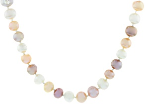 Multi-Color Cultured Freshwater Pearl 70 Inch Endless Strand Necklace