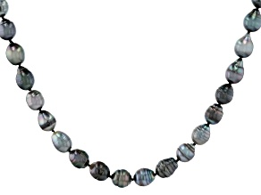 Cultured Tahitian Pearl 36 Inch Endless Strand Necklace
