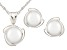 7-7.5mm Cultured Freshwater Pearl 14k White Gold Jewelry Set