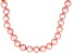 8-9mm Pink Cultured Freshwater Pearl Sterling Silver 20 inch Necklace