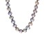 Silver Cultured Freshwater Pearl Endless Strand Necklace 9-10mm