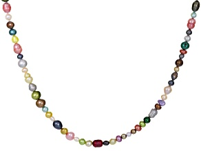 3.5-11mm Cultured Freshwater Pearl Endless Strand Necklace