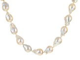 Cultured Freshwater Pearl Necklace 12-15mm