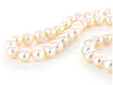 Cultured Freshwater Pearl Endless Strand Necklace 9.5-10.5mm