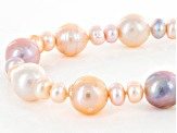 Cultured Freshwater Pearl Strand Necklace 6-13mm