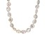 White Cultured Freshwater Pearl Endless Strand Necklace 12-13mm