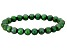Green Cultured Freshwater Pearl Stretch Bracelet 8-9mm