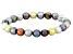 Multi-Color Cultured Freshwater Pearl Stretch Bracelet 8-9mm