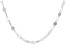Sterling Silver Mirror Link Chain Necklace 32 Inch