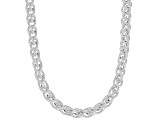 Sterling Silver Wheat Chain Necklace 18 Inch