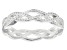 Braided Band Ring Sterling Silver