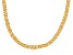 18KT Yellow Gold Over Sterling Silver Nuvola Collection Necklace 18 Inches
