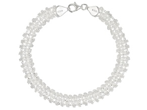 Sterling Silver Nuvola Collection Bracelet.