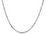 Sterling Silver Criss-Cross Necklace 24""