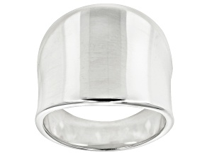 Sterling Silver Polished Band Ring