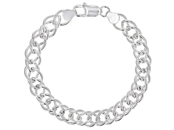Picture of Sterling Silver Double Marquise Bracelet