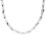 Sterling Silver Braided Herringbone Necklace 20
