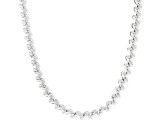 Sterling Silver 7mm San Marco Chain Necklace 18""