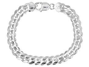 Sterling Silver Cuban Link Bracelet